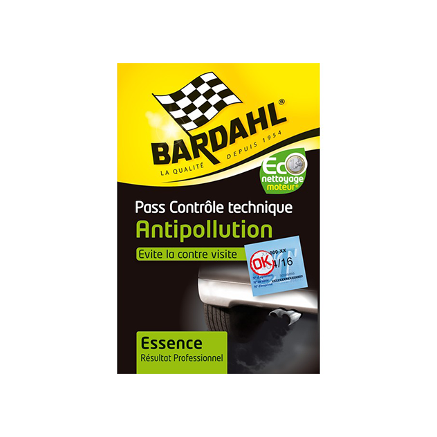 PASS CONTROLE TECHNIQUE* BARDAHL ESSENCE