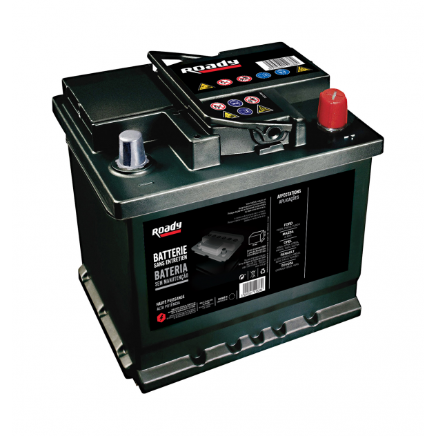 BATTERIE ROADY N2 LB2 60AH 510A