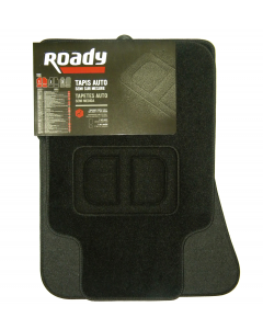 4 TAPIS SEMI-SUR MESURE ROADY