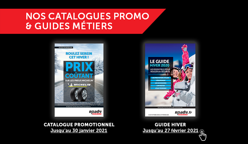 Accès catalogues Roady