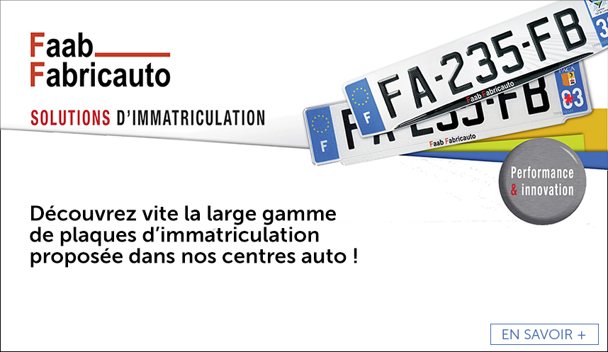 Solutions d'immatriculation FAAB