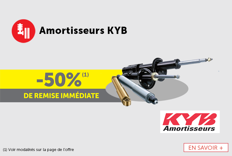 Offre amortisseurs KYB