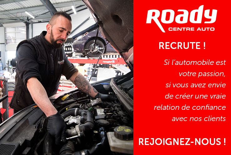 Roady recrute !