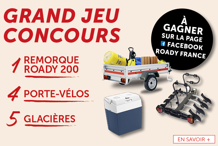 Jeu Concours Facebook Roady France