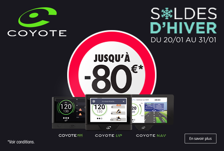 Soldes d'hiver COYOTE