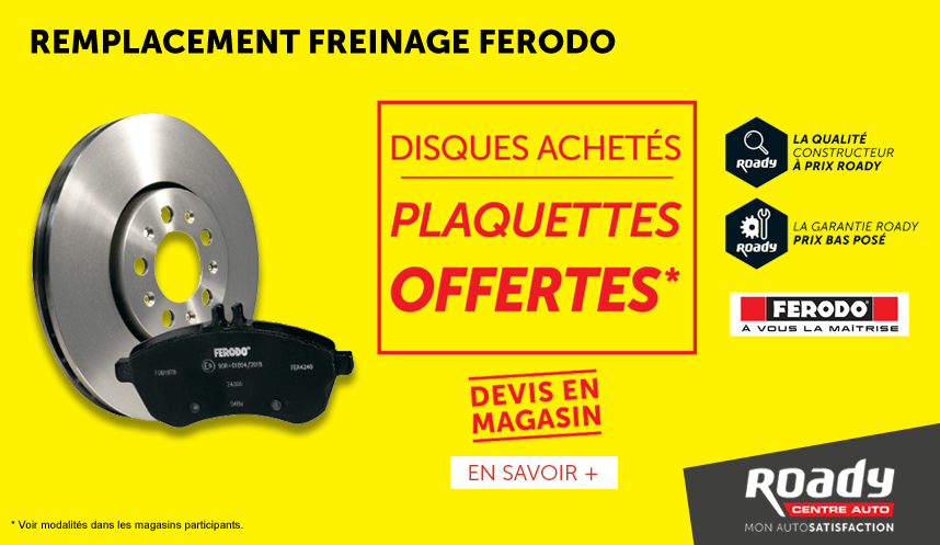Offre freinage OP13