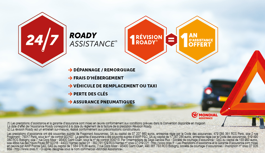 Roady Assistance