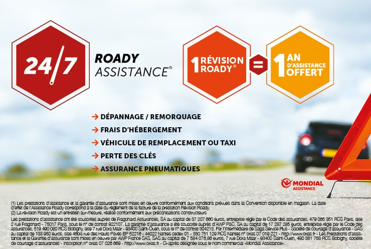 Assistance Roady