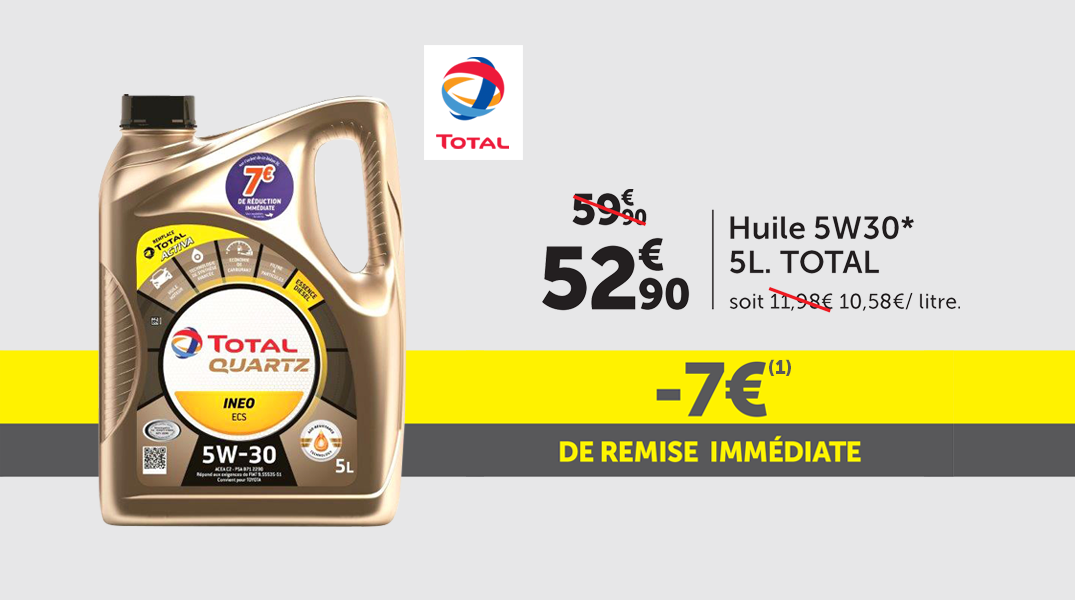 Offre huile Total